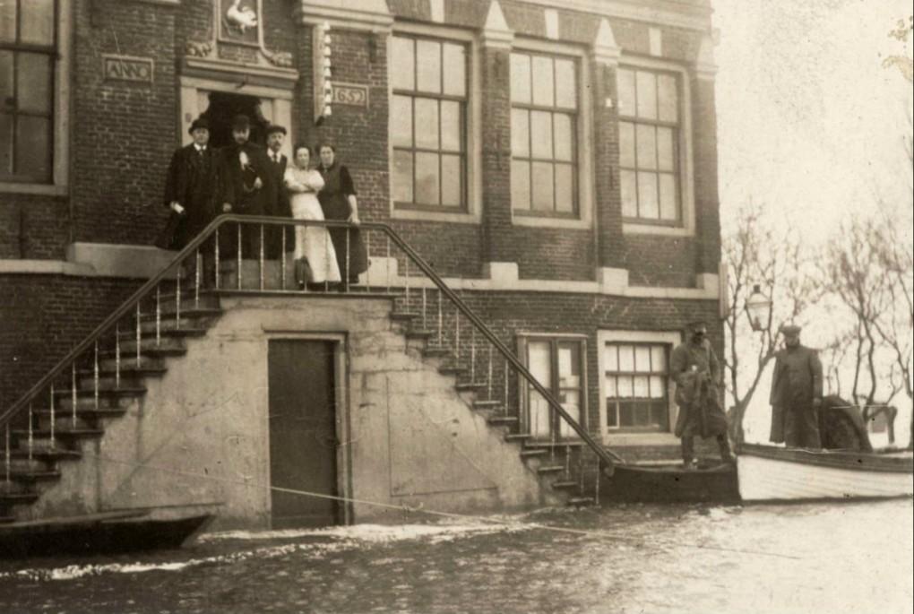 Raadhuis Ransdorp 1916